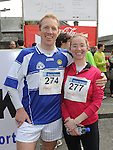 Neil and Aoife Brannigan who took part in the Boyne 10K run. Photo: Colin Bell/pressphotos.ie