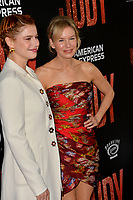 "LOS ANGELES, USA. September 20, 2019: Jessie Buckley & Renee Zellweger at the premiere of ""Judy"" at the Samuel Goldwyn Theatre.<br /> Picture: Paul Smith/Featureflash"