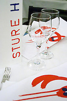 Sture Hof, a classic French style bistro and wine bar. Stockholm. Sweden, Europe.