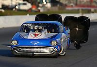 May 16, 2014; Commerce, GA, USA; NHRA pro mod driver Doug Winters during qualifying for the Southern Nationals at Atlanta Dragway. Mandatory Credit: Mark J. Rebilas-USA TODAY Sports