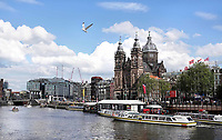 Nederland - Amsterdam - 2019.  De Nicolaaskerk op de Prins Hendrikkade.  Foto Berlinda van Dam / Hollandse Hoogte