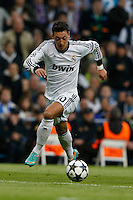 30.04.2012 SPAIN -  Champions League 12/13 Matchday 12th  match played between Real Madrid CF vs  Ballspiel-Verein Borussia 09 Dortmund at Santiago Bernabeu stadium. The picture  Mesut Ozil (German midfielder of Real Madrid)