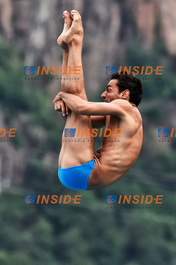 DELL'UOMO Francesco ITA <br /> Platform Men Final - Piattaforma uomini Finale <br /> Bolzano 03-08-2014 <br /> 20 Fina Diving Grand Prix <br /> Photo Andrea Staccioli/Insidefoto