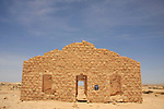 Israel, Negev, remains of the Turkish built village Auja al-Hafir
