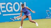 June 10th 2017,  Nottingham, England; WTA Aegon Nottingham Open Tennis Tournament day 1; Destanee Aiava of Australia who defeated Laura Deigman of Great Britain in two sets
