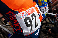 Picture by Alex Whitehead/SWpix.com - 13/05/2018 - British Cycling - HSBC UK Spring Cup Series - Lincoln Grand Prix - Race number.