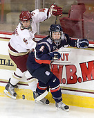 Melissa Bizzari (BC - 4), Maude Blain (UConn - 81) - The Boston College Eagles defeated the visiting University of Connecticut Huskies 3-0 on Sunday, October 31, 2010, at Conte Forum in Chestnut Hill, Massachusetts.