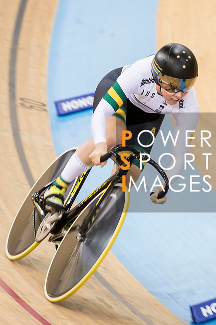 Kaarle McCulloch of the Australia team competes in the Women's Sprint - Qualifying as part of the 2017 UCI Track Cycling World Championships on 13 April 2017, in Hong Kong Velodrome, Hong Kong, China. Photo by Chris Wong / Power Sport Images