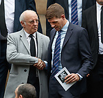 25.09.2018 Funeral service for Fernando Ricksen: Steven Gerrard and Willie Henderson