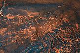 USA, Utah, Bluff, Sand Island Petroglyph panel, Southeast Utah rock art