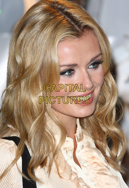 "KATHERINE JENKINS .Opera singer Katherine Jenkins launches her new album ""Sacred Arias"" at a signing in Harrods, Knightsbridge, London, England, October 20th 2008..portrait headshot black eyeliner false eyelashes .CAP/ROS.©Steve Ross/Capital Pictures"