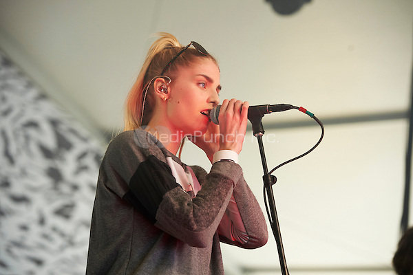 AUSTIN, TX MARCH 12: London Grammar perform at the Fader Fort at the South By Southwest music festival on March 12, 2014  in Austin, Texas. Credit: Tony Nelson/MediaPunch
