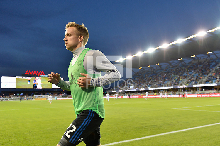 San Jose, CA - Saturday June 24, 2017: Tommy Thompson during a Major League Soccer (MLS) match between the San Jose Earthquakes and Real Salt Lake at Avaya Stadium.
