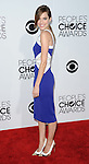 Allison Williams arriving at the People's Choice Awards 2014, held at Nokia Theatre L.A. Live, January 8, 2014.