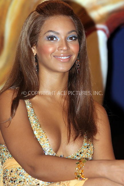 WWW.ACEPIXS.COM . . . . .  ... . . . . US SALES ONLY . . . . .....MADRID, FEBRUARY 23, 2005....Beyonce Knowles in Madrid to launch the Pepsi Spot campaign which took place at the Circulo De Bellas Artes.....Please byline: FAMOUS-ACE PICTURES-J. APARICIO... . . . .  ....Ace Pictures, Inc:  ..Philip Vaughan (646) 769-0430..e-mail: info@acepixs.com..web: http://www.acepixs.com