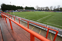 General view of the ground ahead of Braintree Town vs Barrow, Vanarama National League Football at the IronmongeryDirect Stadium on 1st December 2018
