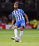 Davy Propper of Brighton & Hove Albion during the premier league match at the Vicarage Road Stadium, Watford. Picture date 26th August 2017. Picture credit should read: Robin Parker/Sportimage