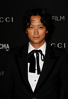Gang Dong-Won, wearing Gucci, attends 2018 LACMA Art + Film Gala at LACMA on November 3, 2018 in Los Angeles, California.     <br /> CAP/MPI/IS<br /> &copy;IS/MPI/Capital Pictures