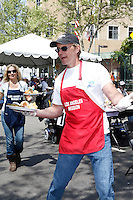 April 2, 2010: Tom Schanley at the LA Mission Easter Luncheon event for the homeless in Los Angeles, California. .Photo by Nina Prommer/Milestone Photo.