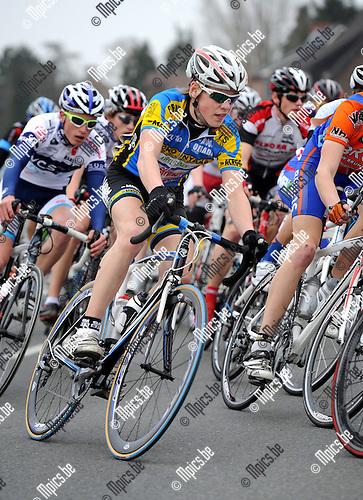 2012-03-03 / Wielrennen / seizoen 2012 / Nieuwelingen / Kyle de Proost, Arendonk..Foto: Mpics.be