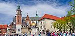 Królewska Bazylika Archikatedralna św. św. Stanisława i Wacława na Wawelu w Krakowie, Polska<br /> Royal Archcathedral Basilica of Saints Stanislaus and Wenceslaus on the Wawel Hill in Cracow, Poland
