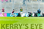 Michael Potts Kerry in action against  Galway in the All Ireland Minor Football Final in Croke Park on Sunday.