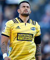DURBAN, SOUTH AFRICA - JUNE 01: Vaea Fifita of the Hurricanes during the Super Rugby match between Cell C Sharks and Hurricanes at Jonsson Kings Park Stadium in Durban, South Africa on Saturday, 1 June 2019. Photo by Steve Haag / stevehaagsports.com