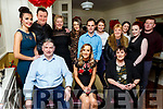 Ciara Curtin from Ballymac celebrating her 30th birthday in the Brogue Inn on Saturday night.<br /> Front l to r: Denis, Ciara and Mary Curtin.<br /> Back l to r: Emma, Mark and Tina Curtin, Olivia O&rsquo;Shea, Stephen Twohig, Aoife Daly, Helen Kelliher, Fiona Fleming, Stephen Keating and Ashley Pollard.