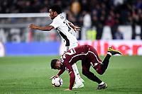 Juan Cuadrado of Juventus , Alejandro Berenguer of Torino <br /> Torino 3-5-2019 Allianz Stadium Football Serie A 2018/2019 Juventus - Torino <br /> Photo Matteo Gribaudi / Image Sport / Insidefoto