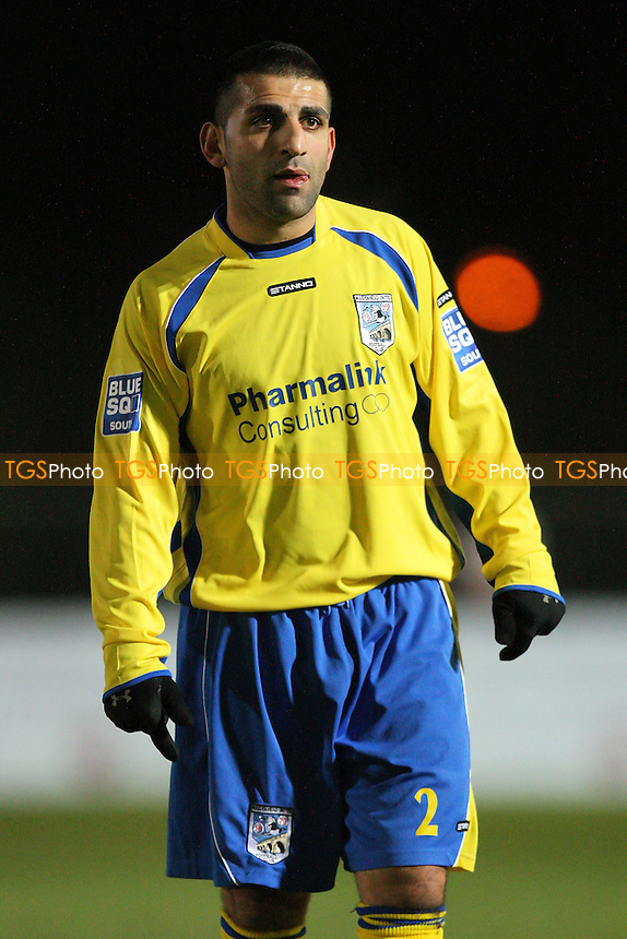 Bobby Behzadi of Maidenhead - Chelmsford City vs Maidenhead United - Blue Square Conference South Football at Melbourne Park Stadium, Chelmsford, Essex - 05/12/11 - MANDATORY CREDIT: Gavin Ellis/TGSPHOTO - Self billing applies where appropriate - 0845 094 6026 - contact@tgsphoto.co.uk - NO UNPAID USE.