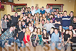 BIRTHDAY GIRL: Meagan Dunne, Ardfert, seated centre between parents Doreen and Mike, having a great night out with friends and family at her 18th birthday party held in the John Mitchell's GAA Clubhouse on Saturday night.   Copyright Kerry's Eye 2008