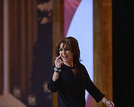 National Harbor, MD - March 8, 2014: Sarah Palin, former governor of Alaska, addresses attendees on the final day of the 2014 Conservative Political Action Conference held at National Harbor, MD March 8, 2014.   (Photo by Don Baxter/Media Images International)
