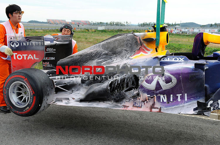 Red Bull RB8 - Mark Webber (AUS), Red Bull Racing <br /> for Austria &amp; Germany Media usage only!<br />  Foto &copy; nph / Mathis