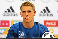Nils Petersen (Deutschland Germany) - 25.05.2018: Pressekonferenz der Deutschen Nationalmannschaft zur WM-Vorbereitung in der Sportzone Rungg in Eppan/Südtirol