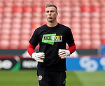 Simon Moore of Sheffield United during the English Football League One match at Bramall Lane, Sheffield. Picture date: November 19th, 2016. Pic Jamie Tyerman/Sportimage
