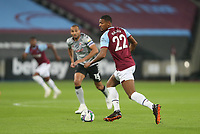 West Ham United's Sebastien Haller<br /> <br /> Photographer Rob Newell/CameraSport<br /> <br /> Carabao Cup Second Round Northern Section - West Ham United v Charlton Athletic - Tuesday 15th September 2020 - London Stadium - London <br />  <br /> World Copyright © 2020 CameraSport. All rights reserved. 43 Linden Ave. Countesthorpe. Leicester. England. LE8 5PG - Tel: +44 (0) 116 277 4147 - admin@camerasport.com - www.camerasport.com