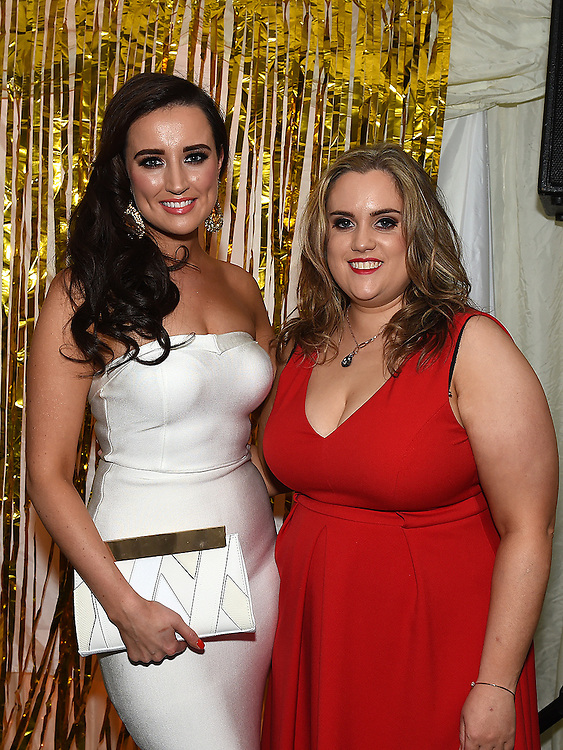 Emma Lynch and Maebh Gogarty celebrating their 30th birthdays in D'Vine. Photo:Colin Bell/pressphotos.ie