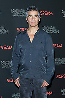 LOS ANGELES - OCT 24: Esai Morales at The Estate of Michael Jackson and Sony Music present Michael Jackson Scream Halloween Takeover at TCL Chinese Theatre IMAX on October 24, 2017 in Los Angeles, California