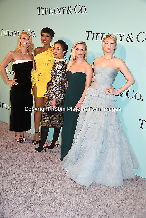 Claire Danes, Jennifer Hudson, Ruth Negga, Reese Witherspoon &amp; Haley Bennett attend the Tiffany &amp; Co 2017 Blue Book Collection on April 21, 2017 at St Ann's Warehouse in Brooklyn, New York, USA.<br /> <br /> photo by Robin Platzer/Twin Images<br />  <br /> phone number 212-935-0770