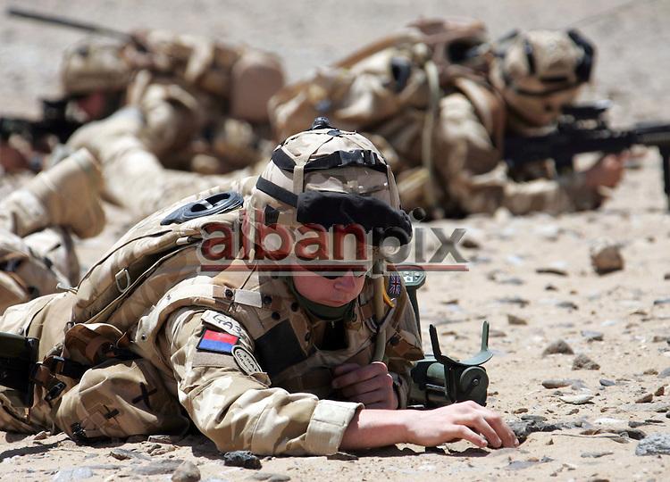 British Solders in Helmand Province,  Afghanistan