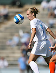 North Carolina's Whitney Engen on Sunday, October 15th, 2006 at Fetzer Field in Chapel Hill, North Carolina. The University of North Carolina Tarheels defeated the Virginia Tech Hokies 1-0 in an Atlantic Coast Conference NCAA Division I Women's Soccer game.