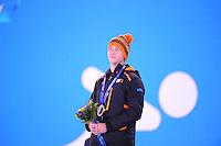 OLYMPICS: SOCHI: Medal Plaza, 09-02-2014, medaille uitreiking, 5000m Men, Jan Blokhuijsen (NED), ©foto Martin de Jong