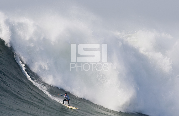 Dave Wassel. Mavericks Surf Contest in Half Moon Bay, California on February 13th, 2010.