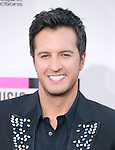 LOS ANGELES, CA - NOVEMBER 24: Luke Bryan arrives at   The 2013 American Music Awards held at Nokia Live in Los Angeles, California on November 24,2013                                                                               © 2013 Hollywood Press Agency