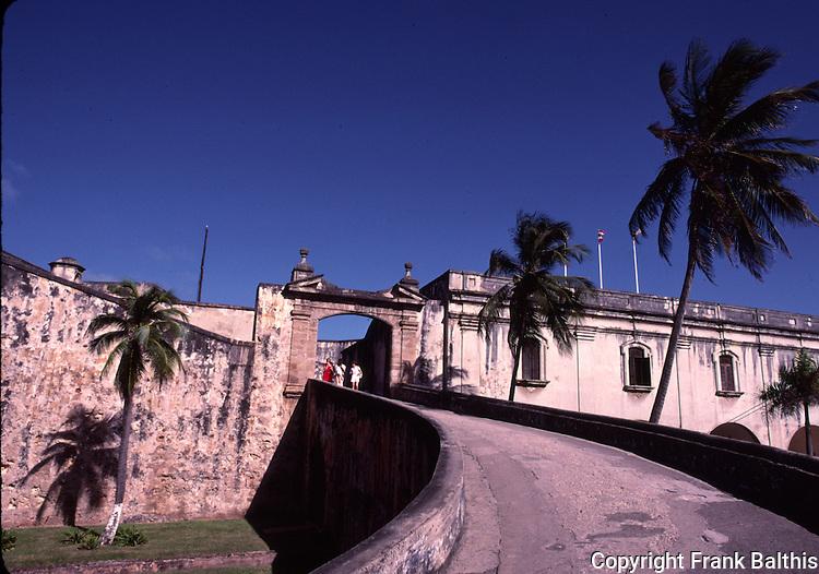 Entrance to San Cristobal in San Juan NHS