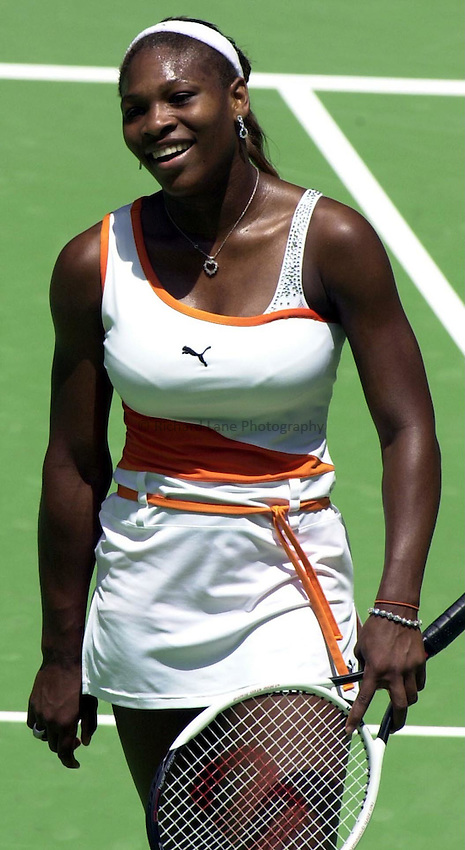 Australian Open Tennis 2003.18/01/2003.Serena Williams