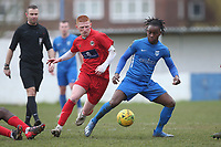 Dara Dada of Barking during Barking vs South Park, BetVictor League South Central Division Football at Mayesbrook Park on 7th March 2020
