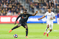 Los Angeles, CA - May 16, 2019: LAFC defeated FC Dallas 2-0 in a MLS match at Banc of California stadium.