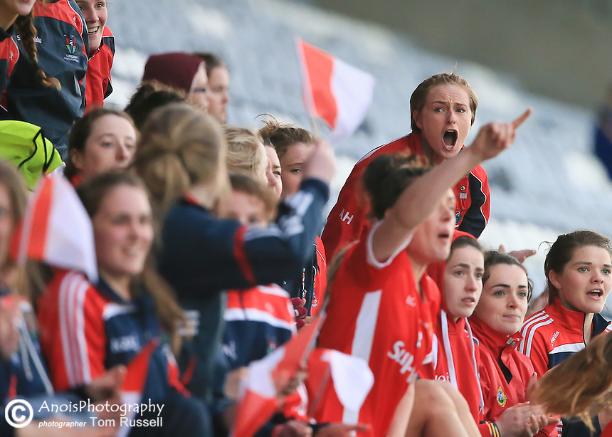 LGFA 2015 Div 1 League Final Replay; Cork v Galway