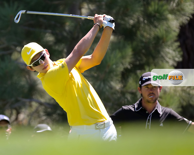 04 AUG 13 Korean Seung Yul Noh during Sunday's Final Round action at The Reno Tahoe Open at The Montreux Country Club in Reno, Nevada.  (photo:  kenneth e.dennis / kendennisphoto.com)